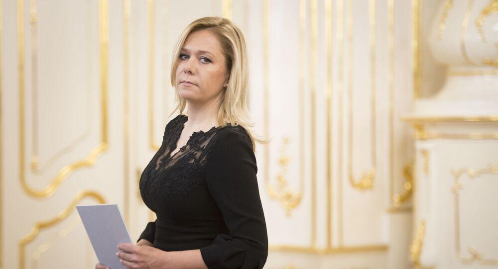 Bývalá ministryně vnitra SR Denisa Saková