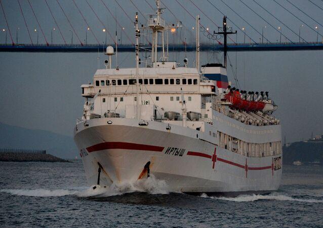 Plavoucí nemocnice Irtyš ruského námořnictva