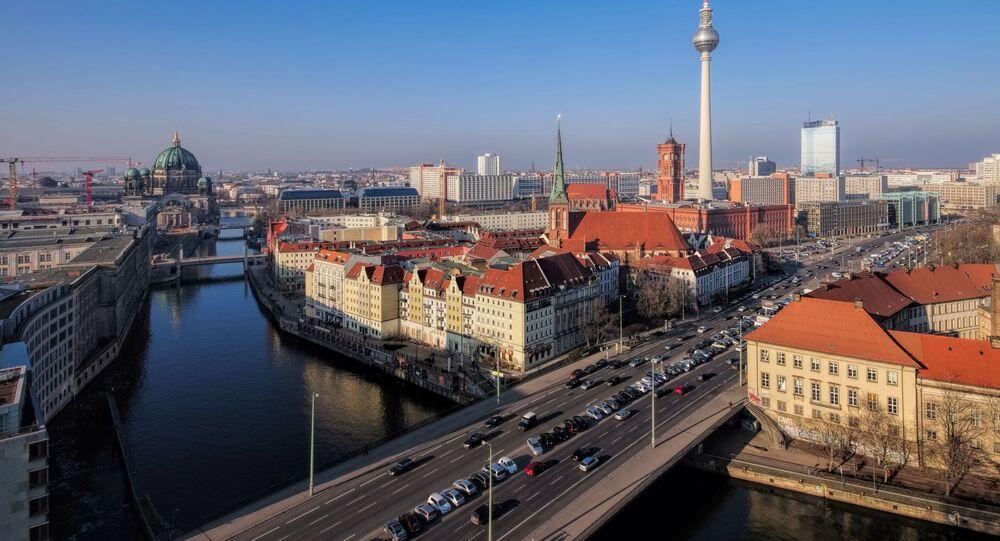Pohled na Berlín