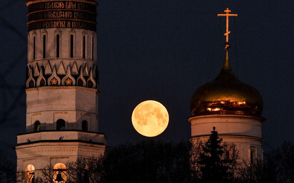 Superúplněk  v Moskvě