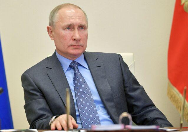 Prezident Ruské federace Vladimir Putin