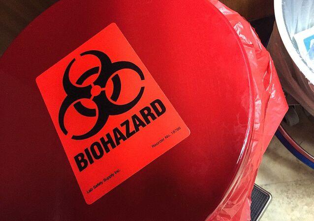 Symbol biologického rizika