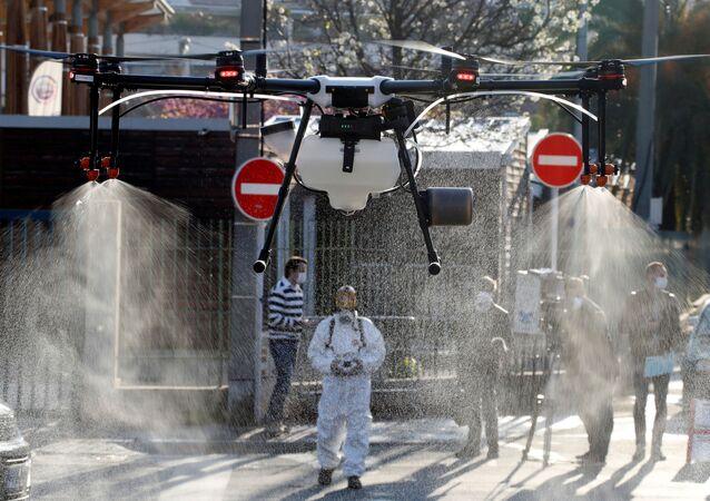 Dezinfekce v Cannes