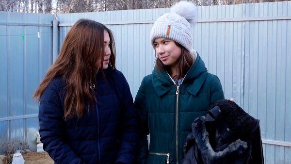 Tyto dívky zachránily život dvěma chlapcům, kteří se propadli pod led - Sputnik Česká republika