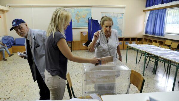 Volby v Řecku - Sputnik Česká republika