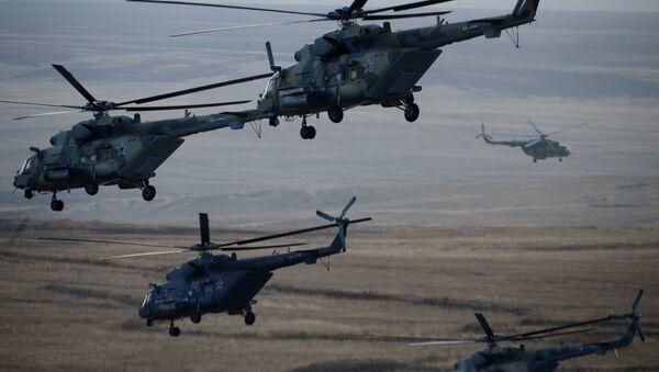 Vrtulníky patřící ruským ozbrojeným silám - Sputnik Česká republika