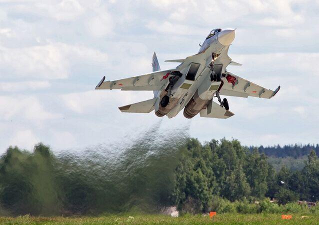 Suchoj Su-30SM. Ilustrační foto