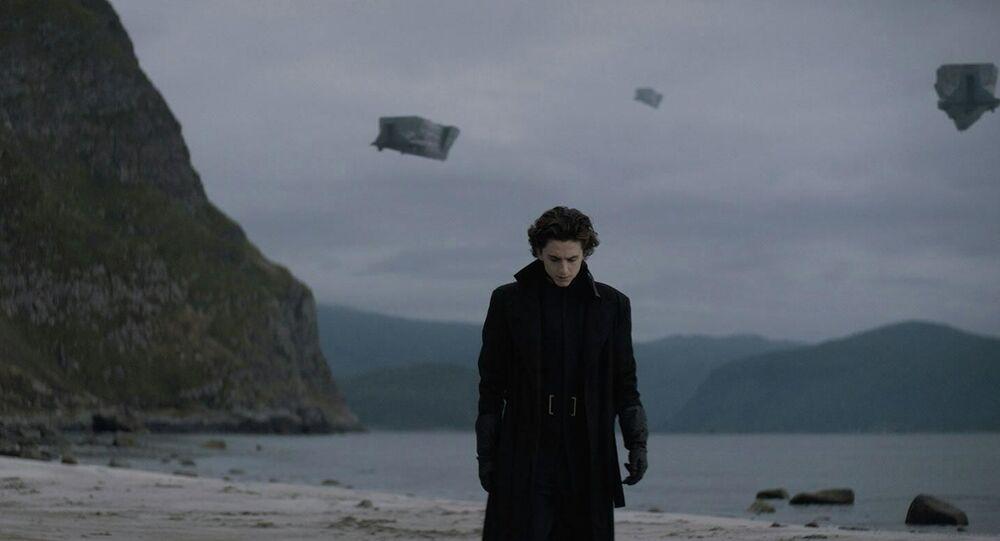 Záběry z filmu Duna
