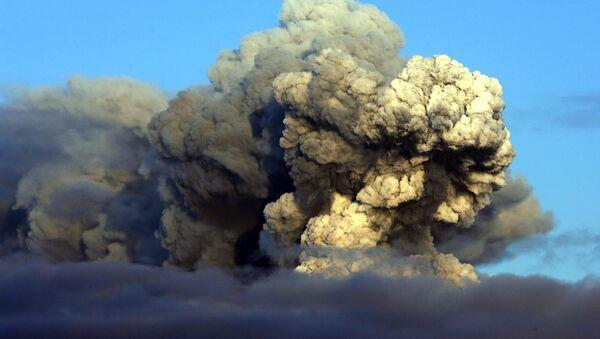 Erupce sopky Eyjafjallajokull na Islandu - Sputnik Česká republika