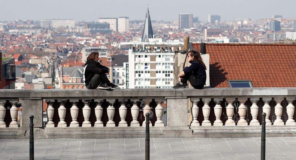 Centrum Bruselu. Ilustrační foto