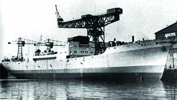 Německá vojenská dopravní loď Goya - Sputnik Česká republika
