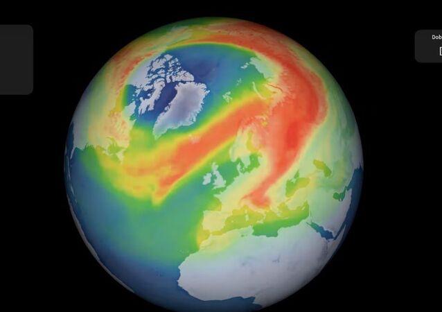 Ozonová díra nad Arktidou