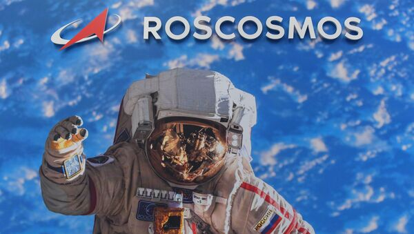 Pavilon Roskosmosu na mezinárodní letecké show Paris Air Show 2019 - Sputnik Česká republika