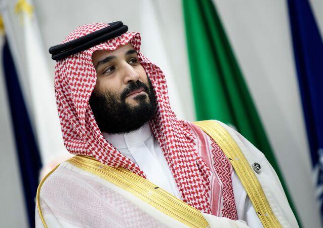 Saúdskoarabský korunní princ Mohamed bin Salmán