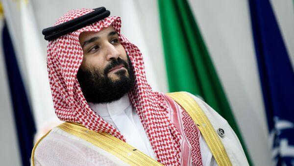 Saúdskoarabský korunní princ Mohamed bin Salmán - Sputnik Česká republika