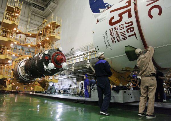 Prezentace vítězné rakety v Rusku - Sputnik Česká republika