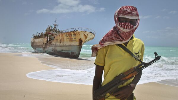 Ozbrojený somálský pirát - Sputnik Česká republika