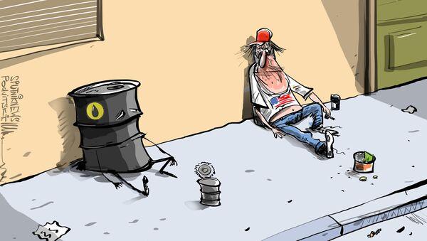 Cena ropy WTI opět klesla pod nulu - Sputnik Česká republika