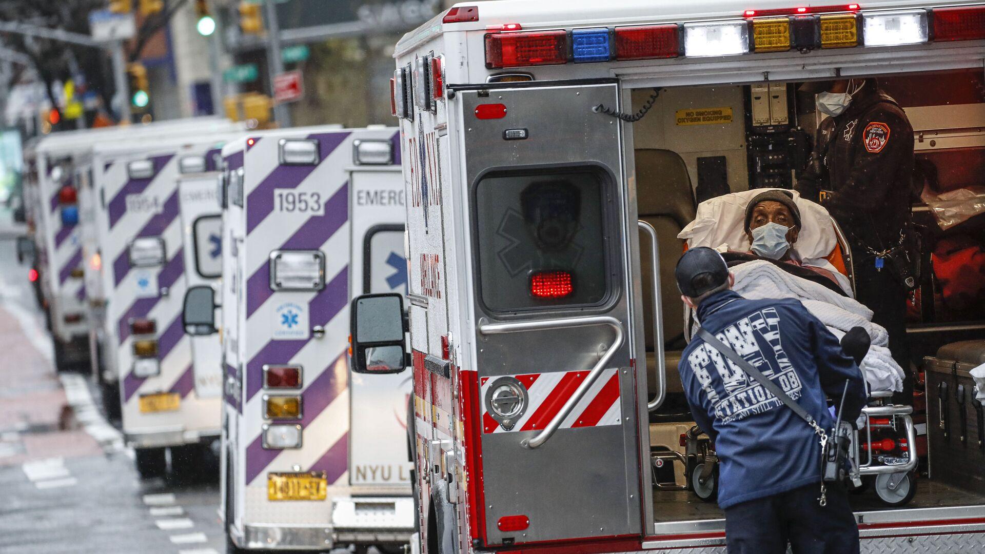 Ambulance v New Yorku - Sputnik Česká republika, 1920, 11.08.2021