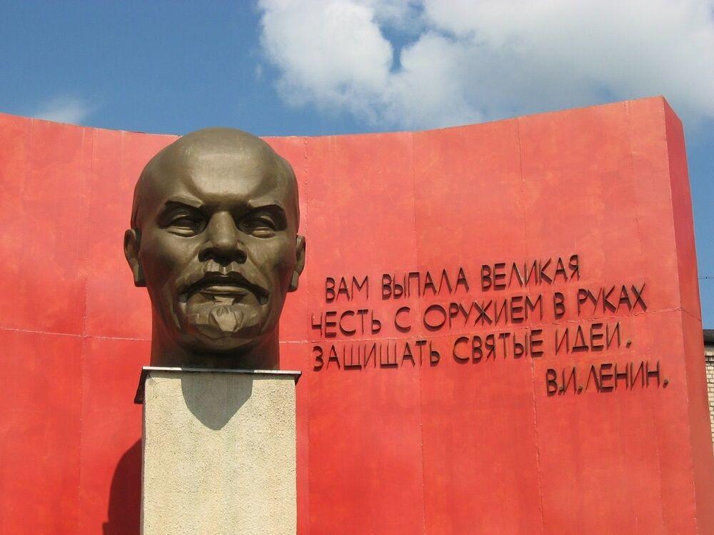 Busta Lenina v Minsku