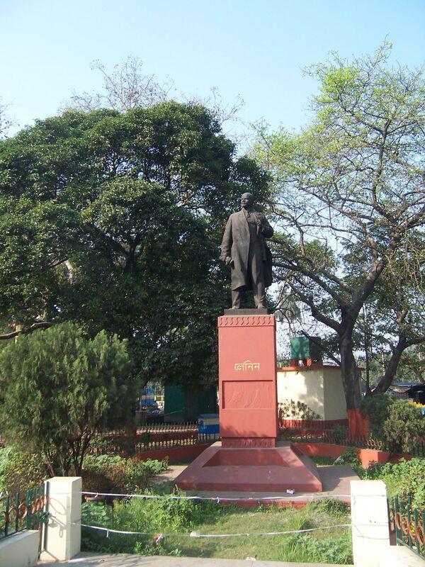 Leninův památník v Kalkatě, Indie - Sputnik Česká republika