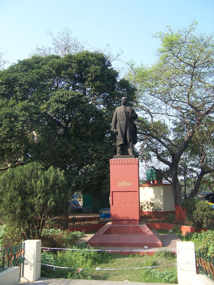 Leninův památník v Kalkatě, Indie
