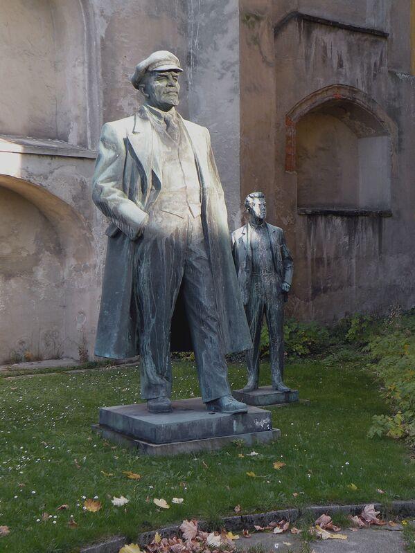 Leninův památník v českém městě Cheb - Sputnik Česká republika