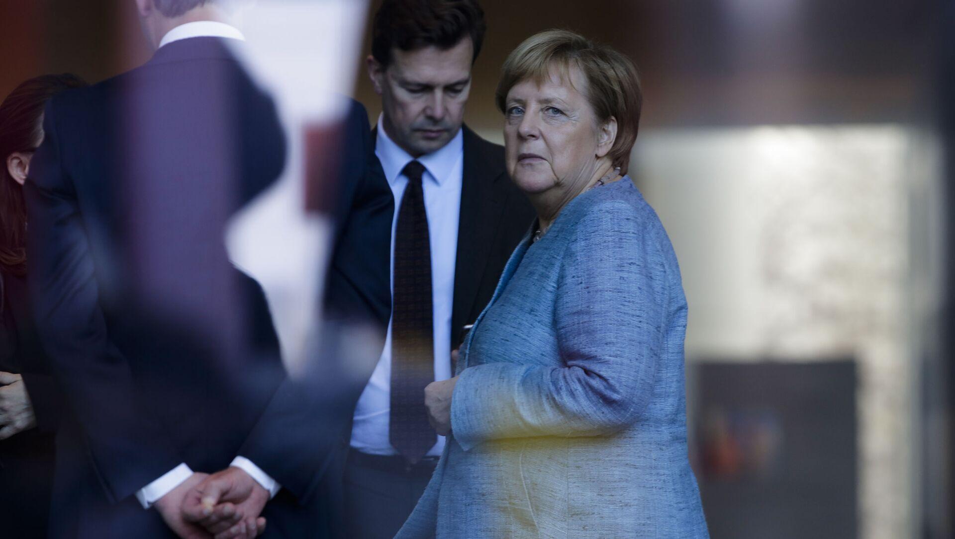 Německá kancléřka Angela Merkelová - Sputnik Česká republika, 1920, 02.02.2021