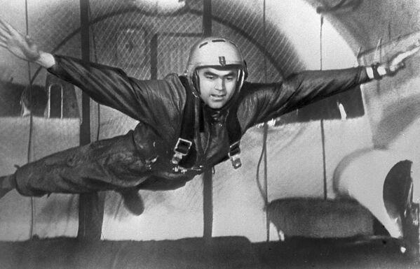 Kosmonaut Andrijan Nikolajev během výcviku - Sputnik Česká republika