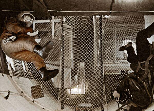 Výcvik astronautů ve stavu beztíže, 1962 - Sputnik Česká republika