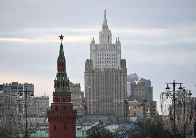 Ruské ministerstvo zahraničí v Moskvě
