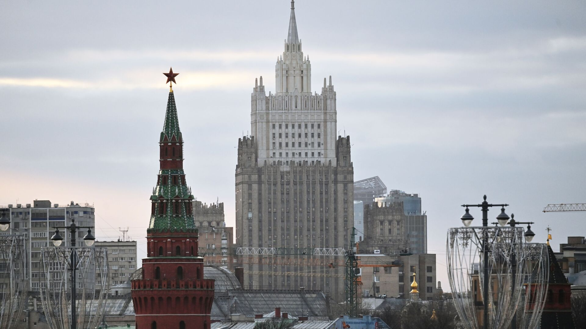 Ruské ministerstvo zahraničí v Moskvě - Sputnik Česká republika, 1920, 22.04.2021