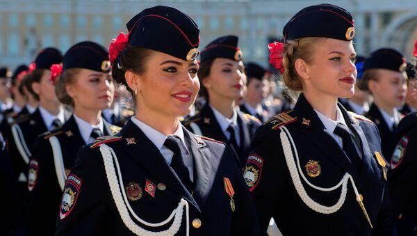 Generální zkouška Vítězné přehlídky v Petrohradě - Sputnik Česká republika