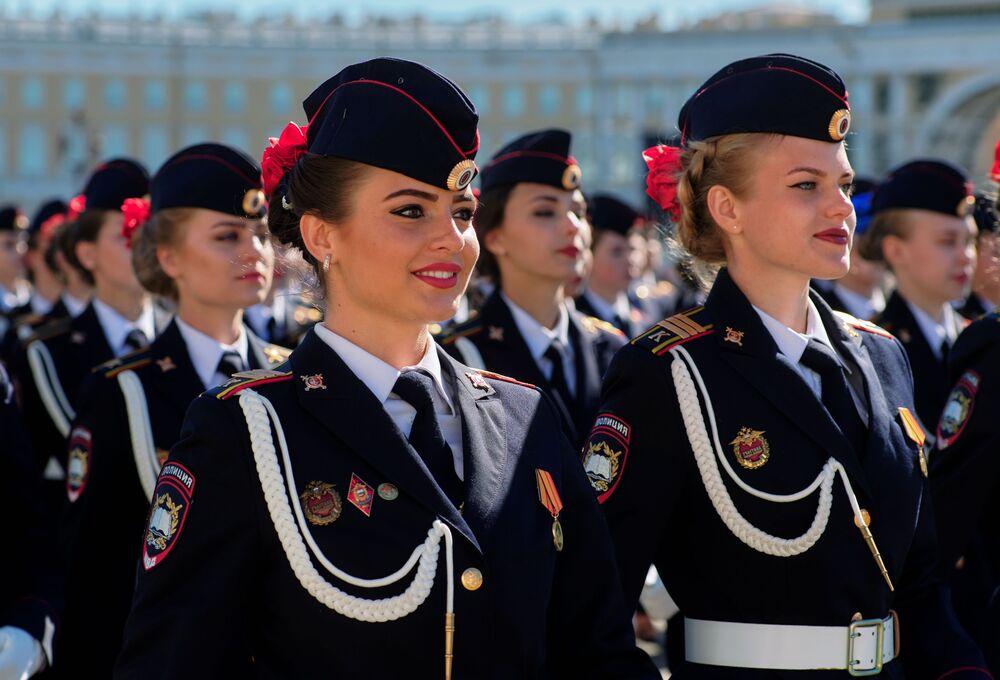 Generální zkouška Vítězné přehlídky v Petrohradě