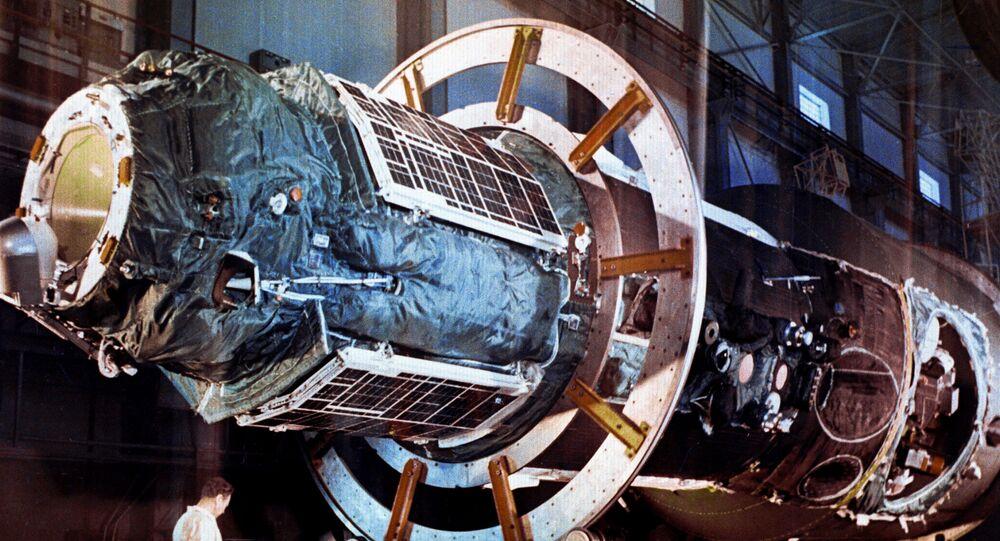 Vesmírná stanice Saljut