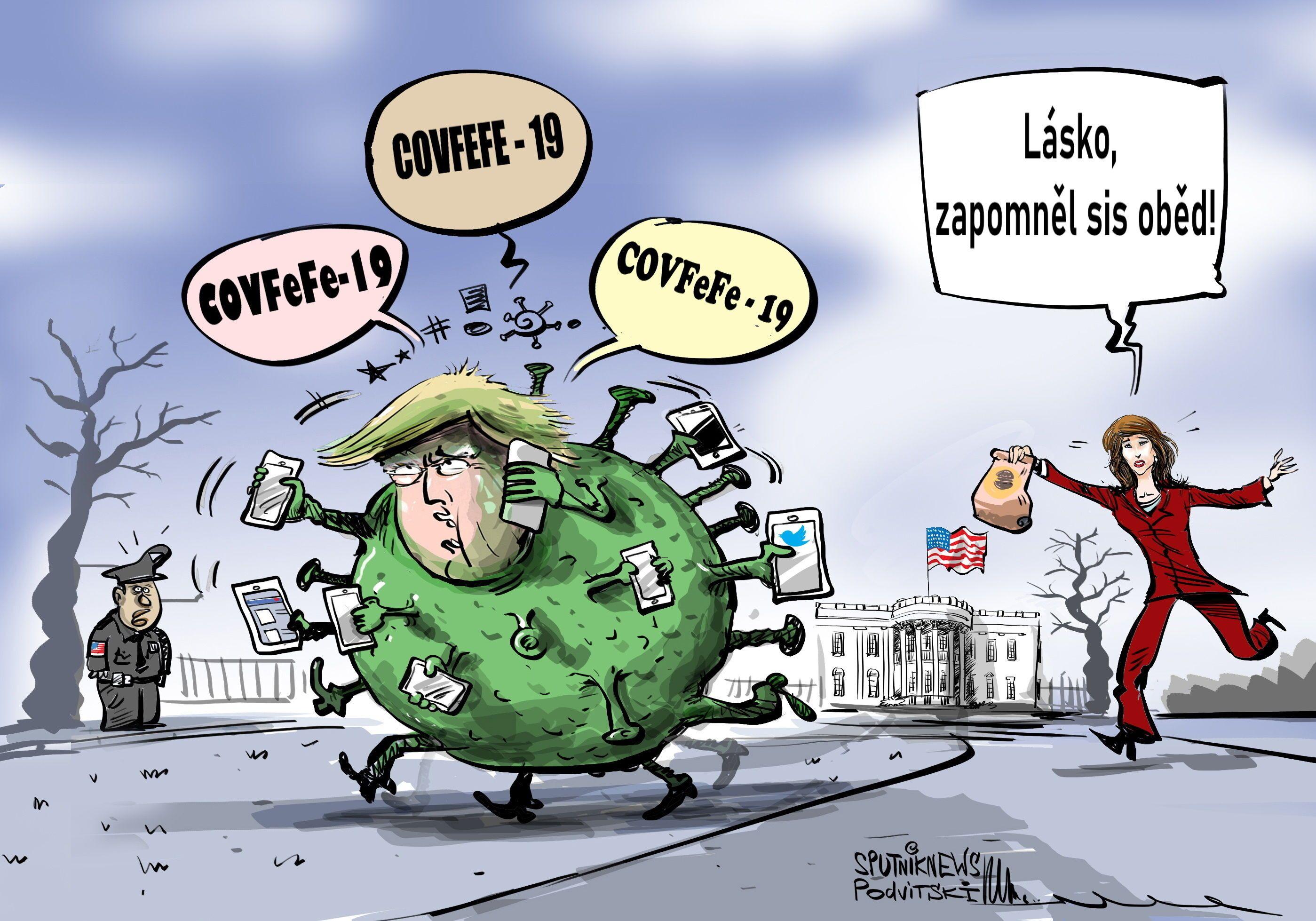 Donald Trump kvůli koronaviru přišel o svůj oběd