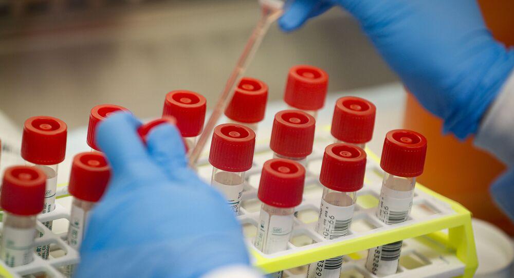 Testování v americké laboratoři
