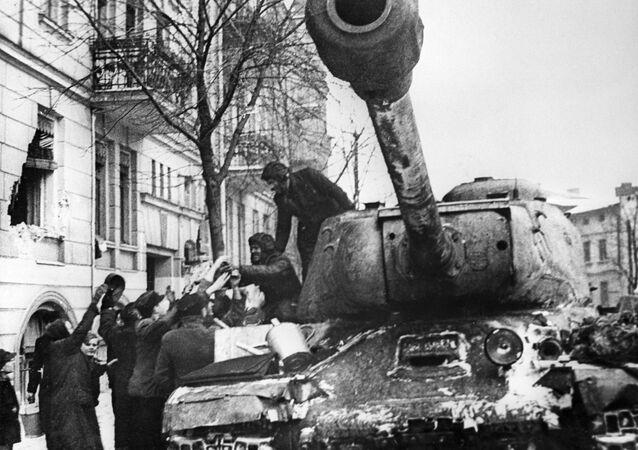 Legendární sovětské tanky z doby druhé světové války