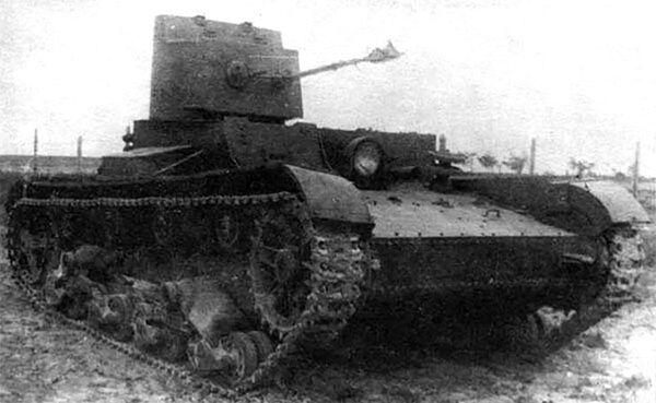 Sovětský lehký chemický tank HT-26/БHМ-3 - Sputnik Česká republika