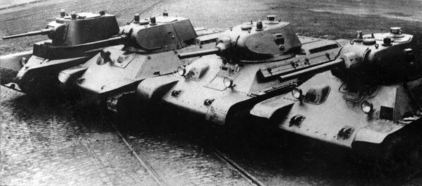 Evoluce tanků — od BT-7 až po Т-34 - Sputnik Česká republika