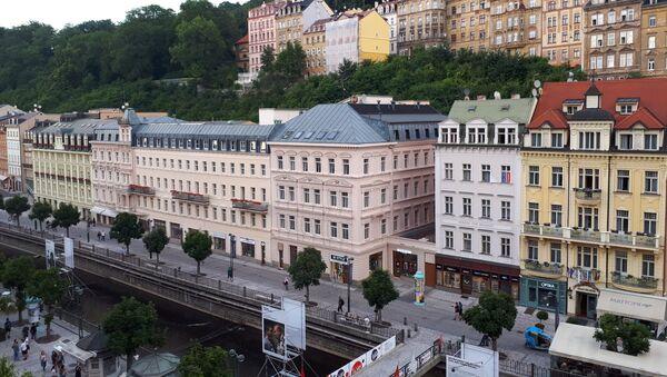 Karlovy Vary v době koronaviru - Sputnik Česká republika