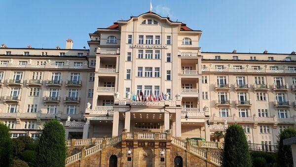 Hotel Imperial v Karlových Varech v době koronaviru - Sputnik Česká republika