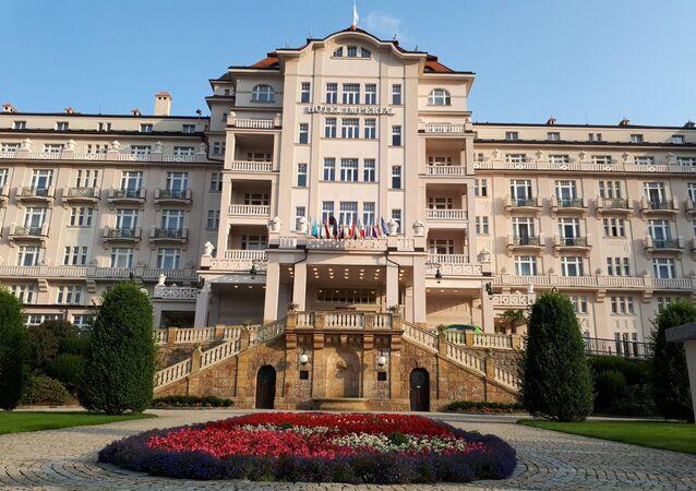 Hotel Imperial v Karlových Varech v době koronaviru