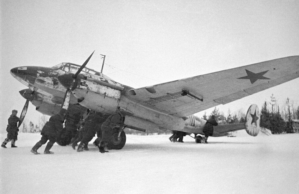 Příprava letadla ke vzletu.
