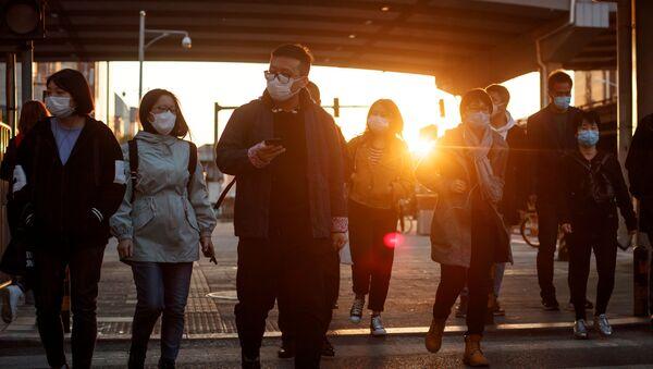 Lidé v Pekingu - Sputnik Česká republika