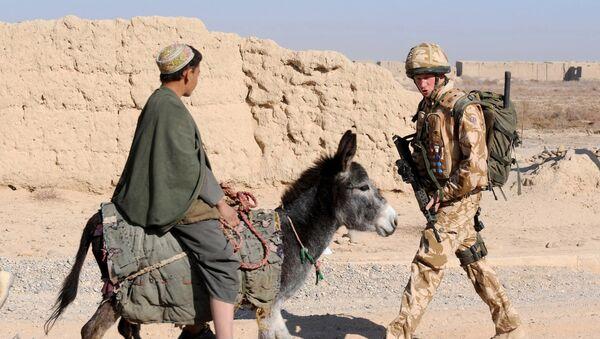 Prince Harry v Afghánistánu - Sputnik Česká republika