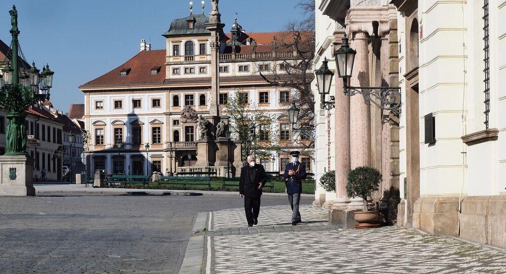 Praha, Hradčanské náměstí