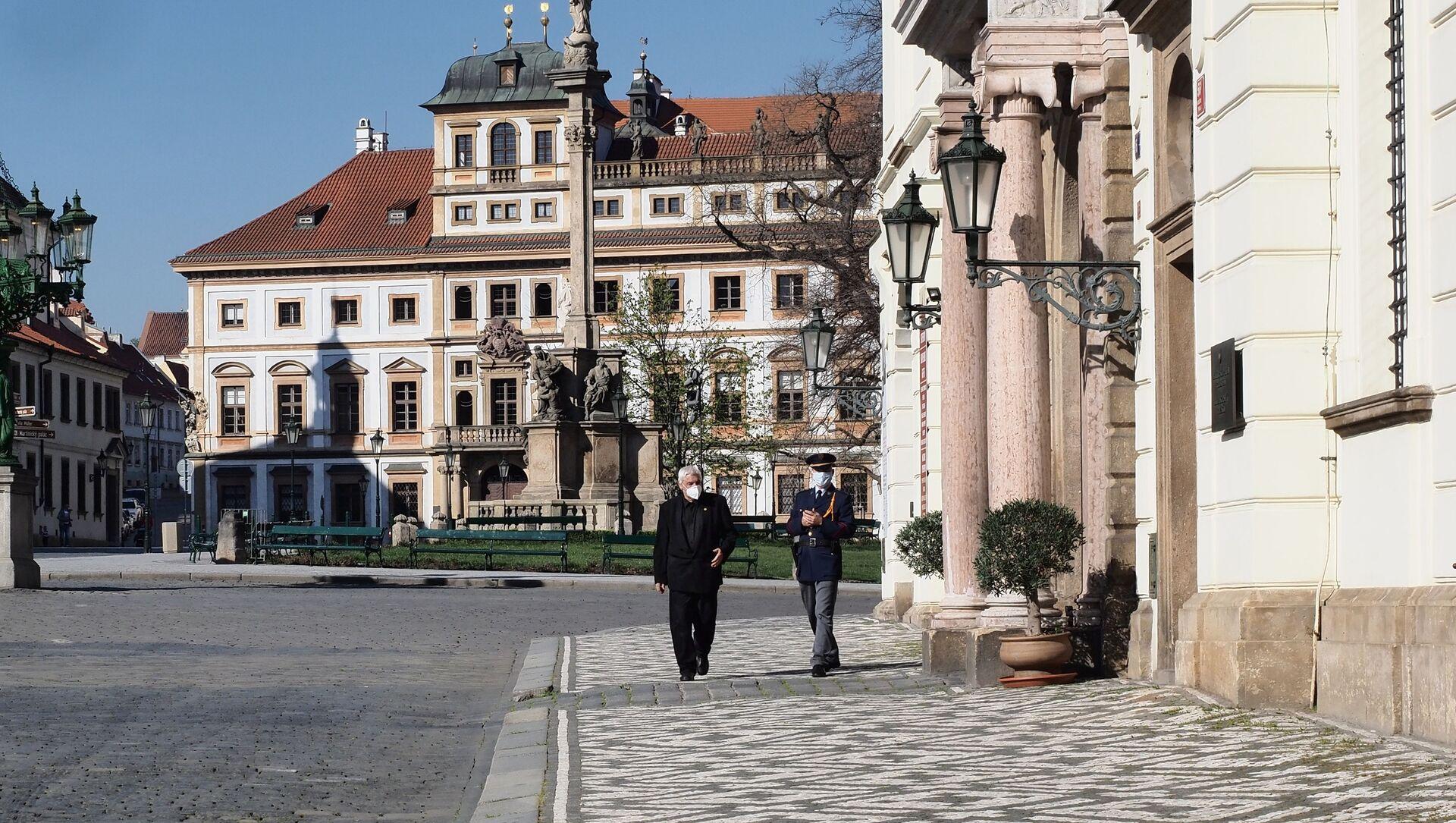 Praha, Hradčanské náměstí - Sputnik Česká republika, 1920, 25.03.2021