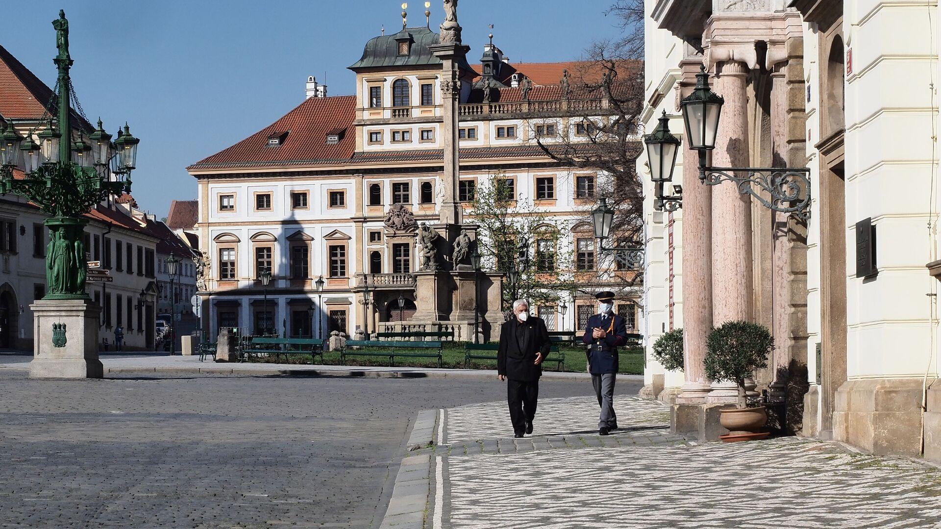 Praha, Hradčanské náměstí - Sputnik Česká republika, 1920, 16.05.2021