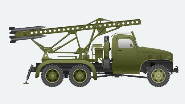Raketomet BM-13 - Sputnik Česká republika